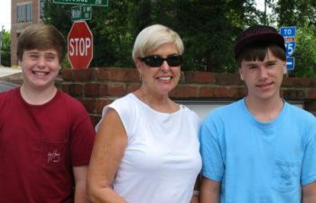 Sons and Grandmother in Invisalign in Marietta