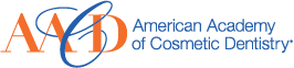 American Academy of Cosmetic Dentistry logo.