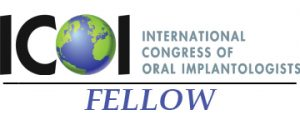 ICOI - International Congress of Oral Implantologists. Fellow.